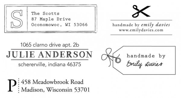Personalized Stamps Giveaway Discount Code Jennifer Mcguire Ink