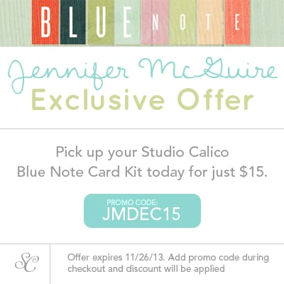 Jennifer McGuire Promo Code Graphic