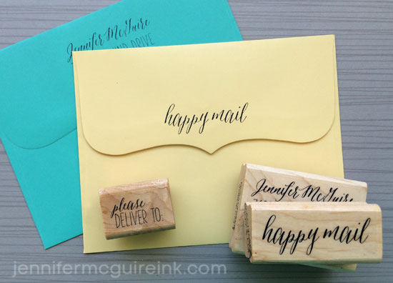 Personalized Stamps Jennifer McGuire Ink