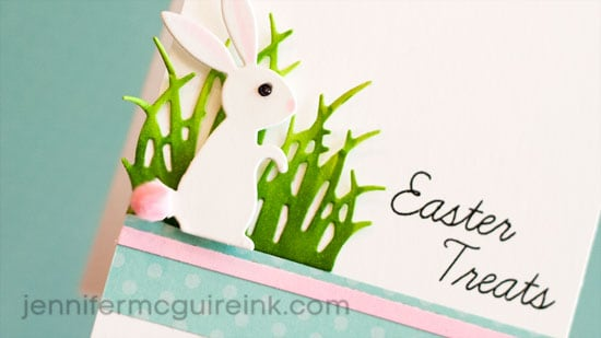 Easter Card Video by Jennifer McGuire Ink
