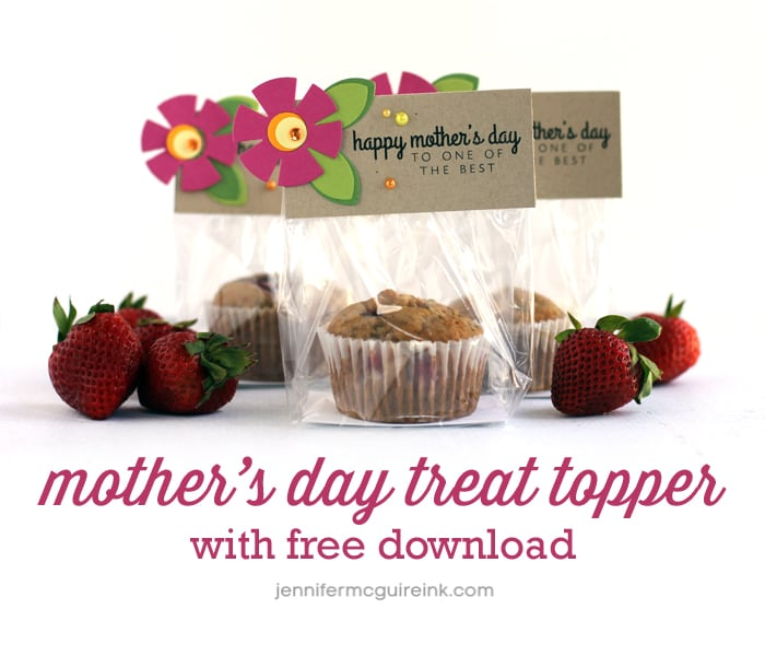 Video mothers day treat topper free download recipe jennifer mothers forumfinder Images