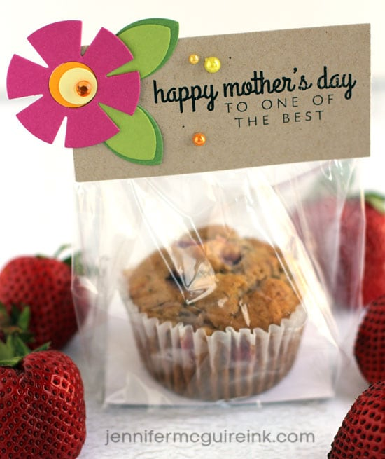 Mother's Day Treat Toppers Video by Jennifer McGuire Ink