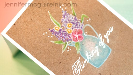 Adding Color with Pigment Ink Video by Jennifer McGuire Ink