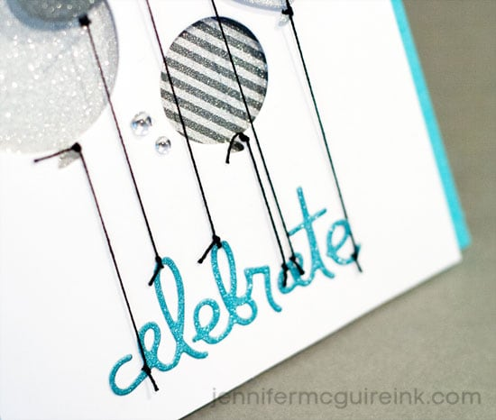 Layered Die Cuts Video by Jennifer McGuire Ink