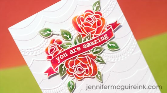Coloring on Vellum Video by Jennifer McGuire Ink