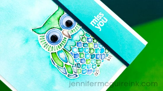 Peerless Watercolor Video by Jennifer McGuire Ink