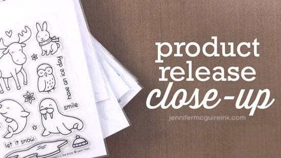 Lawn Fawn Product Release Close-Up Video by Jennifer McGuire Ink