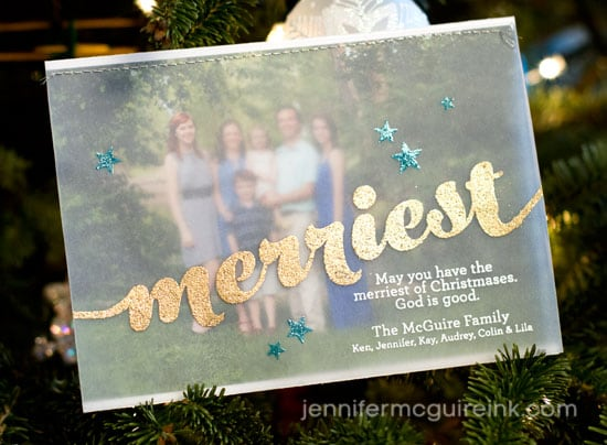 Jennifer McGuire Christmas Card
