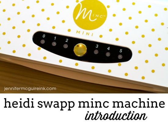 Intro to Minc Machine Video by Jennifer McGuire Ink