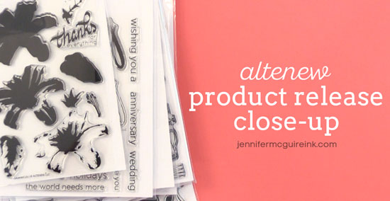 Altenew Product Release Close Up Video
