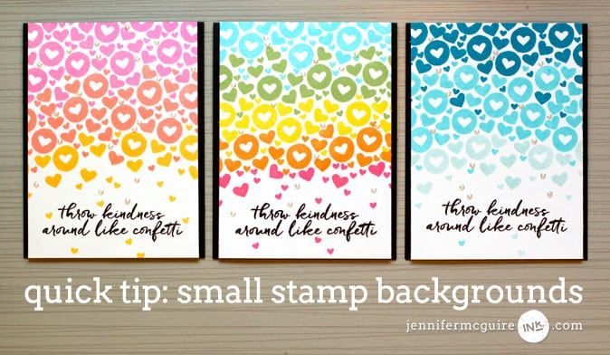 Small Stamp Background Video by Jennifer McGuire Ink