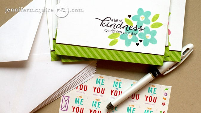 Toner Pen Card Set Video by Jennifer McGuire Ink