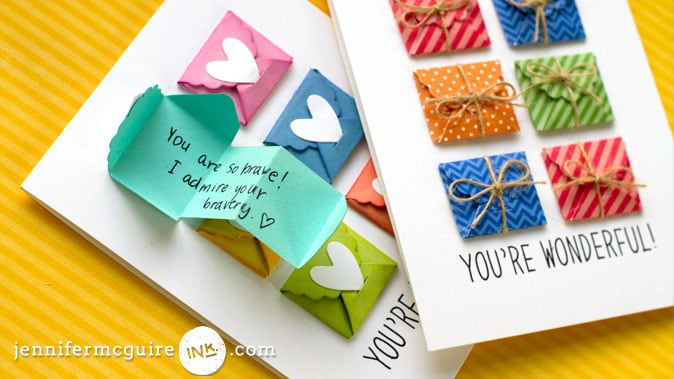Mini Messages Card Video by Jennifer McGuire Ink