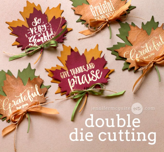 Double Die Cutting Video by Jennifer McGuire Ink