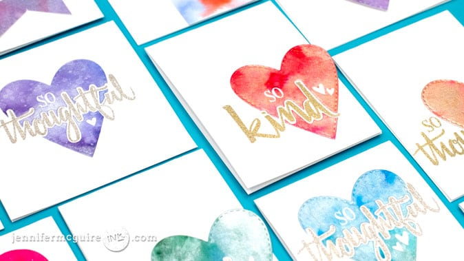 Kid Watercolor Video by Jennifer McGuire Ink