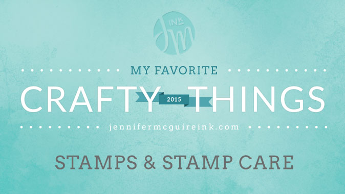 My Favorite Crafty Things 2015 Stamps Jennifer McGuire Ink