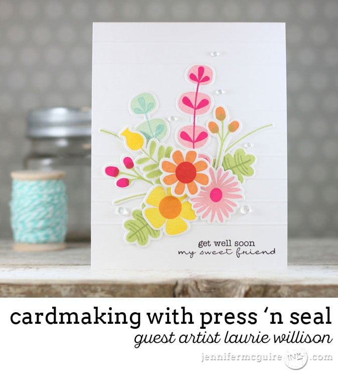 Press N Seal Die Cutting Video Jennifer McGuire Ink