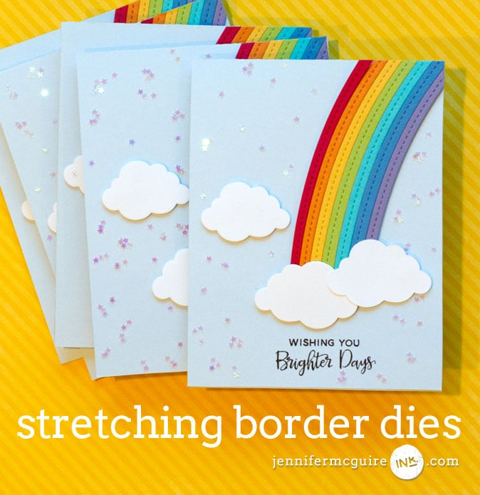 Border Dies Video by Jennifer McGuire Ink