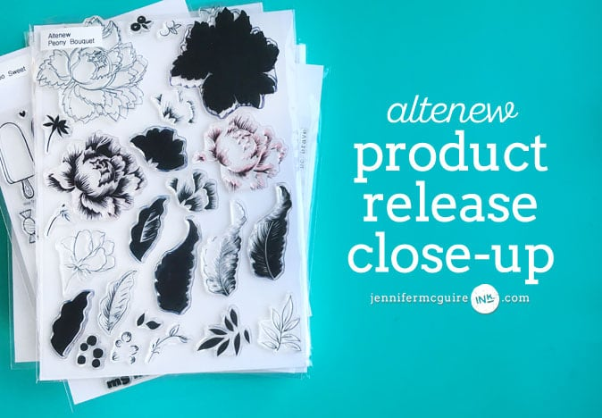 Altenew Product Release Close-Up Video by Jennifer McGuire Ink