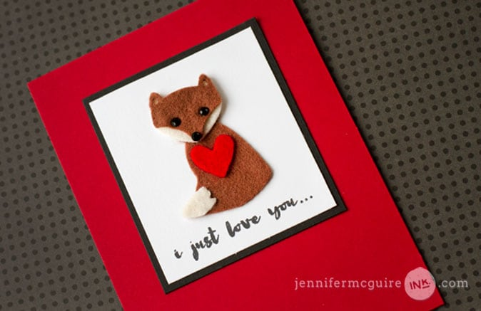 Felt Die Cuts Video by Jennifer McGuire Ink
