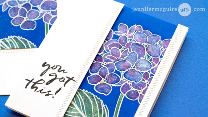 Distress Ink Lifting by Jennifer McGuire Ink