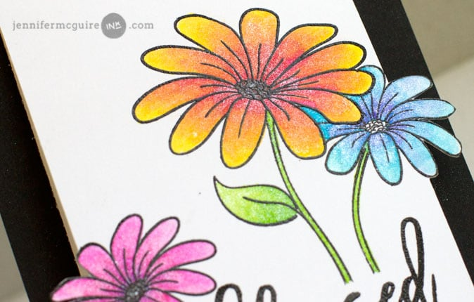 Shimmer Pen Coloring Video by Jennifer McGuire Ink