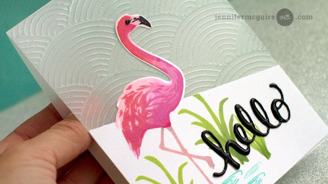 See Through Card Video by Jennifer McGuire Ink