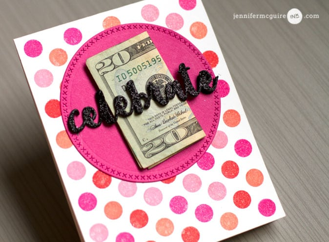 Money Holder Video by Jennifer McGuire Ink
