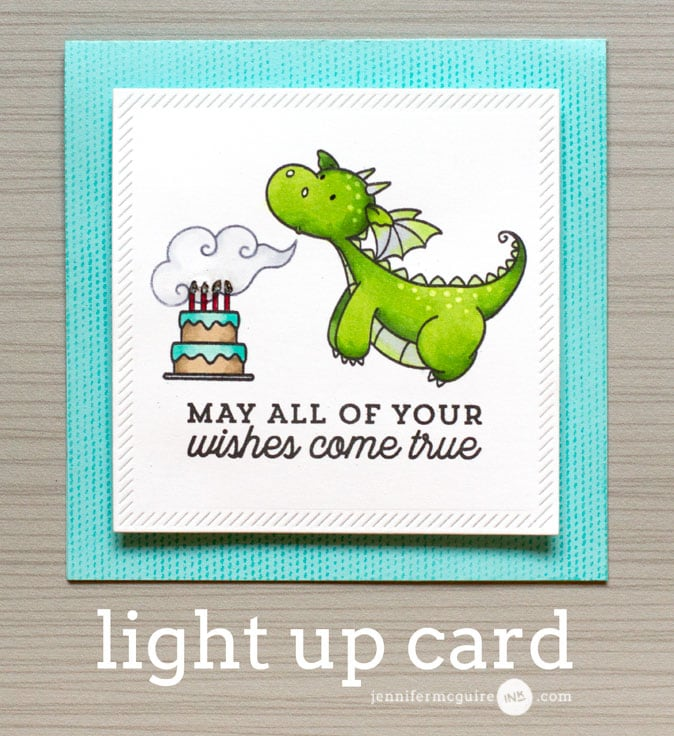 Light Up Card Video by Jennifer McGuire Ink