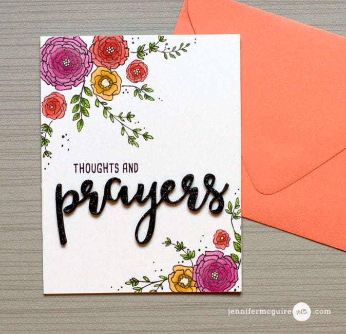 Split Card Design Video by Jennifer McGuire Ink