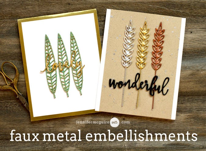 Faux Metal Video by Jennifer McGuire Ink