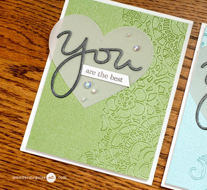 Inlay Die Cuts Video by Jennifer McGuire Ink