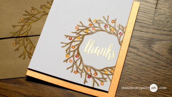 Die Cut Masking Video by Jennifer McGuire Ink