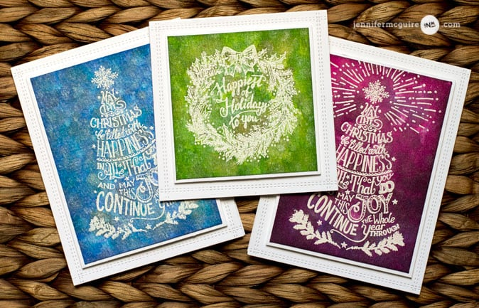Inked Backgrounds Video by Jennifer McGuire Ink