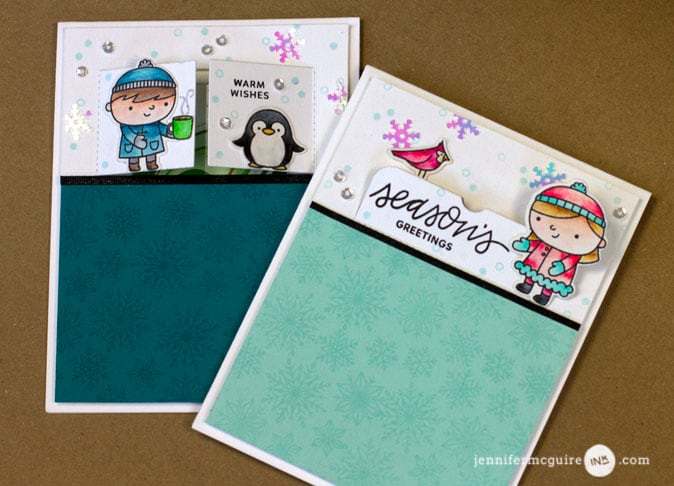 Gift Card Holders Video by Jennifer McGuire Ink