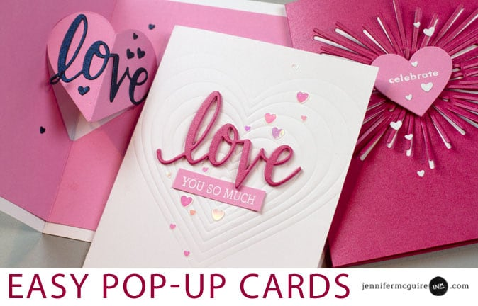 Pop Up Card Video by Jennifer McGuire Ink