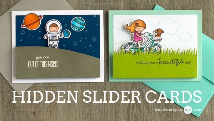 Hidden Slider Video by Jennifer McGuire Ink