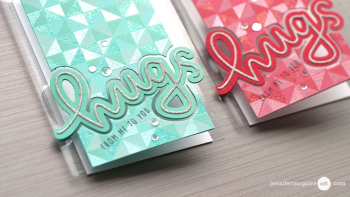 Clear Cards Video by Jennifer McGuire Ink