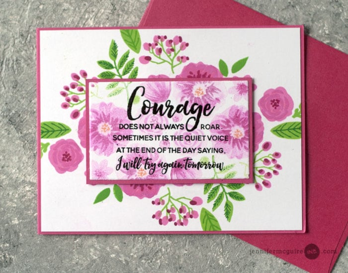 Second Generation Stamping Video by Jennifer McGuire Ink