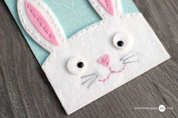 Cardmaking With Felt Video by Jennifer McGuire Ink