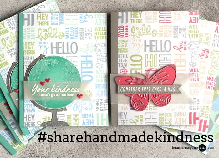 Share Handmade Kindness Video Jennifer McGuire Ink