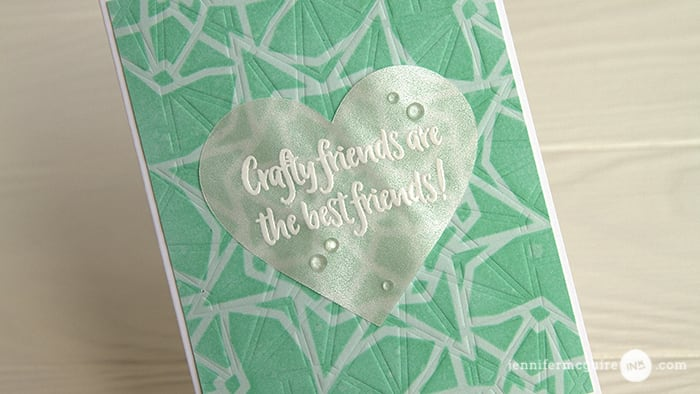Layered Stencils Video by Jennifer McGuire Ink