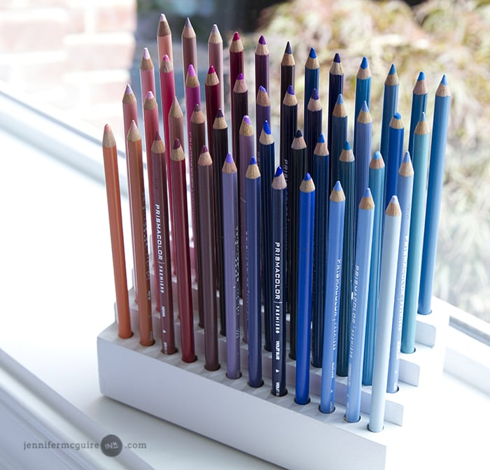 Pencil Organization Jennifer McGuire Ink