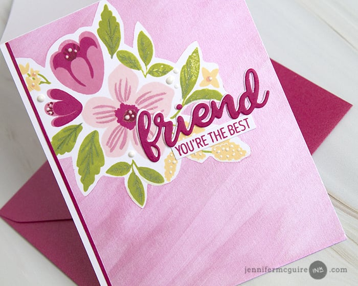 Masked Shimmer Backgrounds Video by Jennifer McGuire Ink
