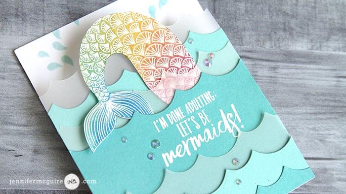 fold out card design jennifer mcguire ink