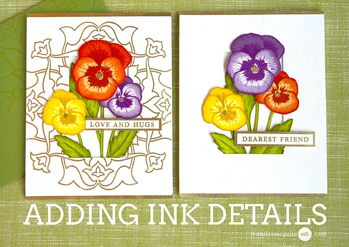 Ink Details Video by Jennifer McGuire Ink