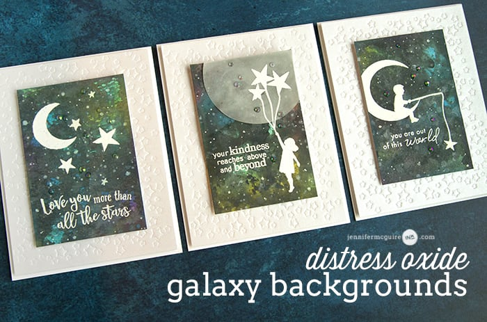 Distress Oxide Galaxy Video by Jennifer McGuire Ink