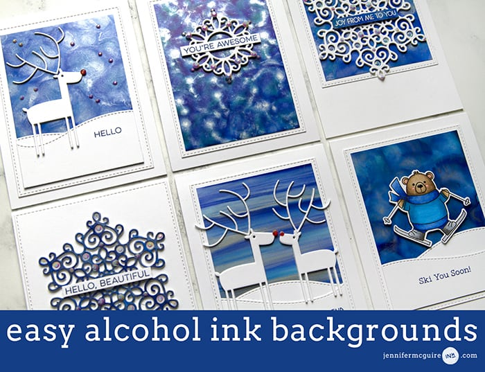 Alcohol Ink Video by Jennifer McGuire Ink