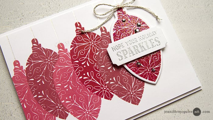 Repeated Stamping by Jennifer McGuire Ink