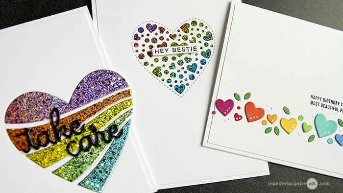 Easy Foil Video by Jennifer McGuire Ink